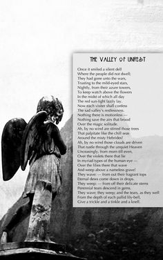 The Valley of Unrest - Edgar Allan Poe