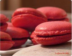 #Macarons à la cerise