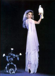 Stevie Nicks. My favorite singer for years. Saw Fleetwood Mac in concert. Landslide is one of my favorite songs