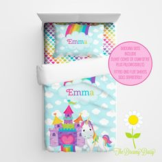 my favorite magical unicorn bedding sets for sale! | shay's dream