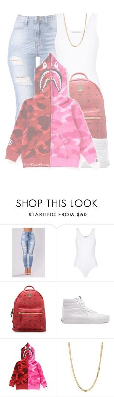 """❣️🌸❣️"" by wntrtimeshawty ❤ liked on Polyvore featuring Wildfox, MCM, Vans and Bianca Pratt"