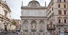 La fontana del Mosè in piazza San Bernardo, fu eretta tra il 1585 ed il 1589 quale mostra terminale dell'acquedotto Felice, voluto da papa Sisto V (1585-1590), al secolo Felice Peretti, da cui prese il nome.