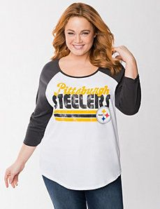 Pittsburgh Steelers Tee by Lane Bryant 7d78e5ec5