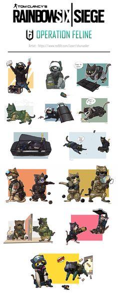 Rainbow Six Siege memes Rainbow Six Siege Anime, Rainbow 6 Seige, Rainbow Six Siege Memes, Tom Clancy's Rainbow Six, Rainbow Art, Rainbow Stuff, Animé Fan Art, Video Game Memes, Gaming Memes