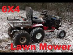 Off Road Lawn Mower - Modern Design Lawn Tractor Trailer, Lawn Mower Tractor, Lawn Tractors, Go Kart Frame Plans, Go Kart Plans, Build A Go Kart, Homemade Tractor, Small Tractors, Little Truck