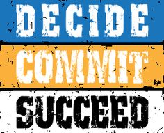 Decide+Commit+Succeed with Beachbody coaches Dave and Monica Ward of TheFitClubNetwork.com