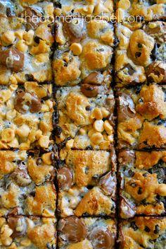 Gluten free peanut butter cookie dough bars