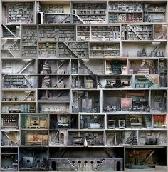 a doll house with libraries that take up entire floors :)