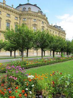 Würzburg Residence is a palace in Würzburg, southern Germany