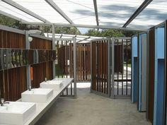 NPSW blocks at Botany Bay and Bonnie Vale, by Lacoste + Stevenson.