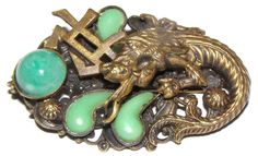 Neiger Brothers Egyptian Revival Brooch