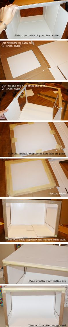 Photo Lightbox Step-by-Step Tutorial from OneCreativeMommy.com #lightbox#photography
