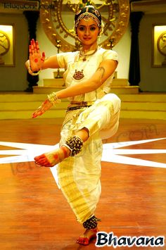 bharatnatyam with ankle bells to set the rhythm in time to the music
