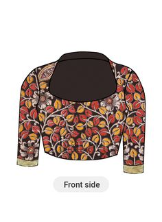Shop the latest trendy Women Mix And Match Dresses at Cbazaar. Large collections and attractive discounts on all Women Mix And Match Dresses through online from US, UK, IND, AUS. Blouse Neck Patterns, Blouse Designs Silk, Kalamkari Blouses, Fashion Blouses, Indian Blouse, Collar Blouse, Blouse Styles, Buns, Kurti