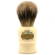 Case Best Badger Shave Brush shave brush by Simpson * New and awesome outdoor gear awaits you, Read it now : Travel size items Badger Shaving Brush, Wet Shaving, Travel Brushes, The Art Of Shaving, Hair Removal Cream, Shaved Hair, Travel Size Products