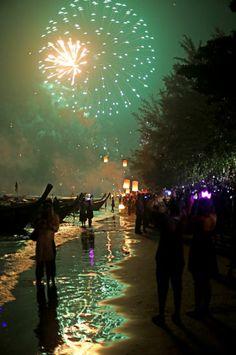 New Year - Ao Nang, Thailand