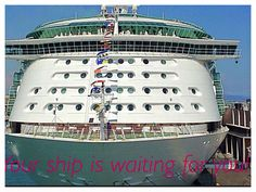 Your ship is waiting for you!