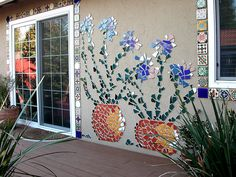 mosaics brighten up the home -