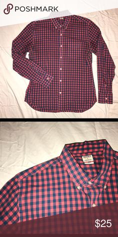 9dfd06fcc3c Bonobos summerweight Shirt—blue and coral gingham This shirt is made from  100% ultra