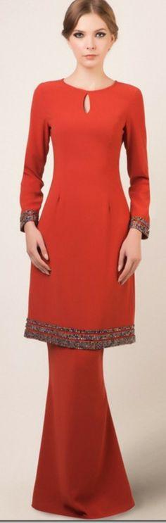 images about Baju Ideas - kurung, kebaya, dresses! on Pinterest | Baju
