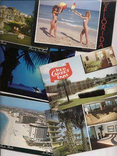 Retro Florida Postcards