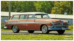 A 1955 Chrysler New Yorker Station Wagon by =TheMan268 on deviantART