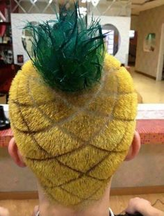 Pineapple Haircut - 15+ Of The Craziest Haircuts Ever.