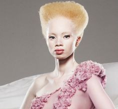 Thando Hopa: Choosing Pretty  At only 25-years-old, this public prosecutor and part-time model already demonstrates a precocious collectedness and understanding of people and a thorough understanding of herself.