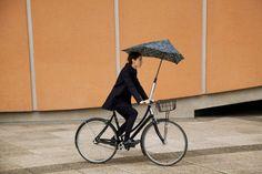 senz「Monsoon」抗風雨傘系列,颳風下雨不減搭配熱情