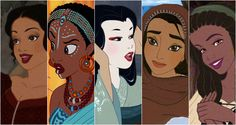 The answer should be nothing, but unfortunately people are probably always going to find something wrong with Disney Princesses being drawn as ethic characters. Description from thereelnetwork.net. I searched for this on bing.com/images