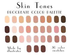 Palette Pastel, Skin Color Palette, Pastel Colors, Colours, Ipad Pro Apple, App Ipad, Apple Pencil, Colors For Skin Tone, Character Design