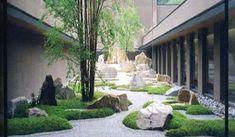 Asian Garden, Chinese Garden, Zen Garden Design, Garden Art, Landscape Architecture, Landscape Design, Japanese Style House, Pavilion Design, Forest House