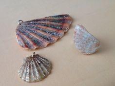Shells Jewelry DIY. Conchiglie come bellissimi ventagli di mare.