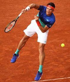 Blog Esportivo do Suíço:  Raonic não brilha no saque, mas vai para as oitavas de Roland Garros