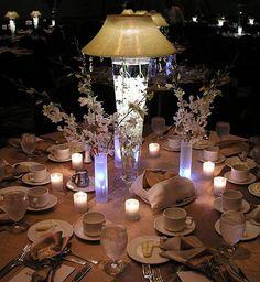 Decoración de mesas para banquetes | eHow en Español