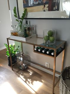 Proud to present my DIY Ikea hack bar table! Very pleased with the outcome. - Ikea DIY - The best IKEA hacks all in one place Bar Table Ikea, Patio Bar Table, Ikea Bar Cart, Bar Cart Decor, Pub Table Sets, Diy Table, Bar Tables, Diy Bar, Diy Kallax