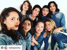 #Repost @nanipochu (via @repostapp) ・・・ Hoy filmando #dancevideo de #greatescape con @tinitastoessel y bailarinas de @h3dancestudio !!! Amo trabajar con tanto amor!!!!! Felicidad y plenitud! ⭐️ ❤️❤️