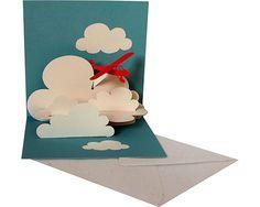 Der Kartenmacher-Postkarten-Grusskarten-Glückwunschkarten-dreidimensionale Karten-Kartendesign-Faltbriefumschläge-Tierkarten-Blumenkarten-3D-Karten - Pop-up card aircraft Aircraft W 02