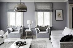 Scandinavian style living room