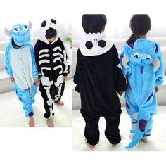 Monster University James P. Sullivan Onesies Kigurumi Sleep Suit Huispak The Night Before Christmas Jack Skeleton