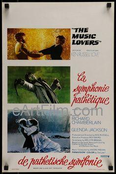 Music Lovers-Ken Russell-Richard Chamberlain-Glenda Jackson-1971-Belgian