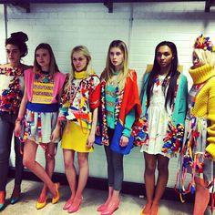 Naomi Lewis // model dress fitting
