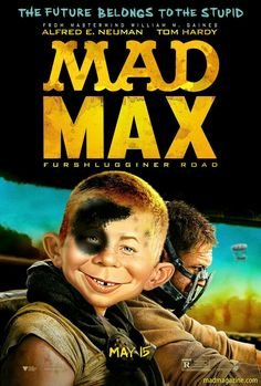 MAD Magazine for Mad Max