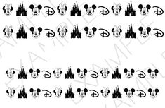 These decals can be applied to any type of nails (regular polish, soak off gel, hard gel and acrylic). Disney nail decals, very pretty, bright stickers with unique designs. You will receive 50 nail decals and full nail instruction in a resealable bag. Funky Nail Art, Funky Nails, Nail Art Stickers, Nail Decals, Nail Art Disney, Nail Salon Supplies, Minion Nails, Types Of Nails, Us Nails