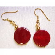 Red earrings!