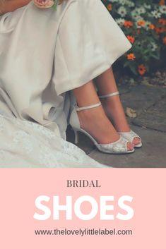 The Lovely Little Label Bridal Sandals, Bridal Shoes, Umbrella Wedding, Wedding Umbrellas, Low Heels, High Heel, Vintage Style Shoes, Fancy Hands, Wedge Wedding Shoes