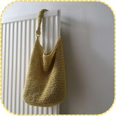 Free perfectly slouchy bag pattern... ♥ By A la Sascha
