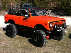 1974 International Harvester : Scout Scout II But not so red necky 4x4 Trucks, Lifted Trucks, Cool Trucks, Cool Cars, International Scout Ii, International Harvester Truck, Jeep 4x4, Vintage Trucks, Cars Motorcycles