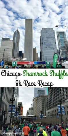 2016 Chicago Shamrock Shuffle Race + Weekly Workouts | chicagojogger.com