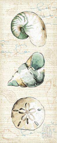 Ocean Prints VI Art Print by Pela at Art.com